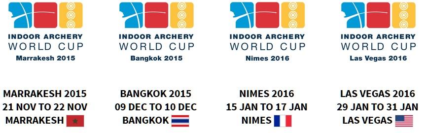 アーチェリーワールドカップインドア2015