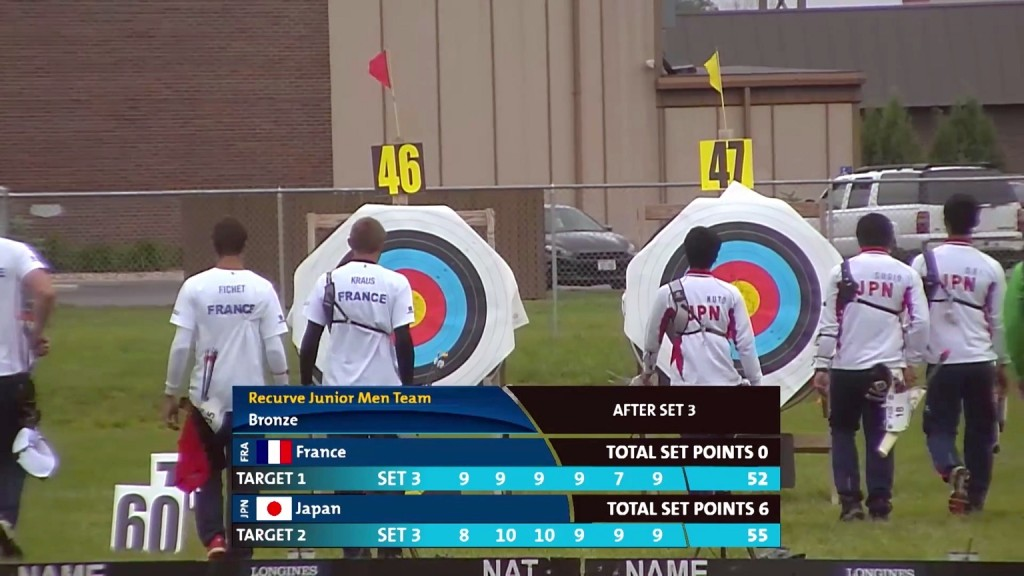 Recurve_Junior_Mens_Team_Bronze_Final_Yankton_2015